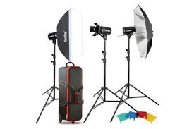 Комплект <b>студийного света Godox</b> E250-D, 3х250 Дж — купить с ...