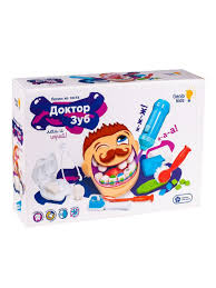 <b>Набор</b> для <b>детской</b> лепки Доктор Зуб GENIO KIDS 5866178 в ...