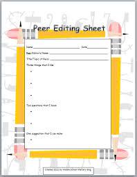 Essay revision checklist middle school   writefiction    web fc  com Pinterest