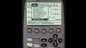 solving equations using the ti  solving equations using the ti 89