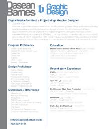 digital media resume guide two columns 100 s of samples