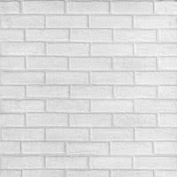 <b>Стеновая панель МДФ</b> Albico <b>Кирпич</b> белый 2200х930 мм, цена ...