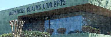 advanced claims concepts inc is an established independent adjusting company doing business for the past 16 years our directors have over 94 years advanced concepts business