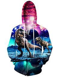 dinosaur jackets 3d print hoodie