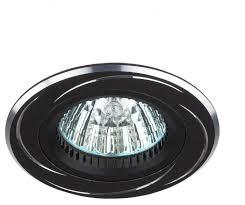 <b>Встраиваемый светильник ЭРА</b> Алюминиевый <b>KL34</b> AL/BK ...