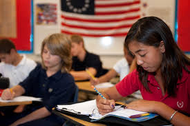 best private middle school in palm beach county american middle school students in class