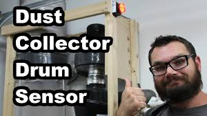 Dust Collector Drum Sensor - YouTube
