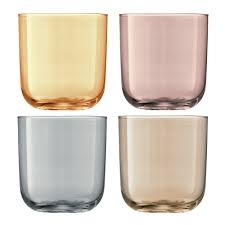 Buy LSA International <b>Polka Assorted Tumblers</b> - Set of 4 - <b>Metallic</b> ...