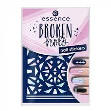 Broken Holo Nail Sticker фигурные наклейки для ногтей от ...