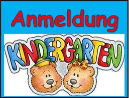 Bildergebnis für kindergarten anmeldung
