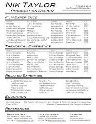 film resumes   timus there    s a bit of resume in all of usresume examples marketing finance internship leeds