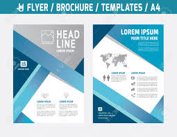 flyer multipurpose design vector template in a size abstract flyer multipurpose design vector template in a4 size abstract brochure modern style booklet cover