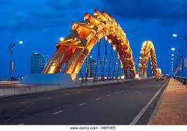 Image result for street view Cau Rong bridge, Da Nang city