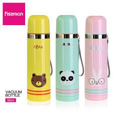 FISSMAN 500ml Vacuum Bottle Double Wall Stainless Steel Women ...