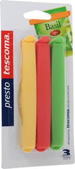 """<b>Набор зажимов</b> для пакетов Tescoma """"<b>Presto</b>"""", цвет: красный ..."""