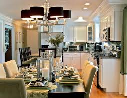 image of dining rooms eat in kitchen designs spacious eat kitchen