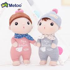 Metoo <b>Baby Kids Lovely</b> Stuffed Dolls <b>Girls Cute</b> Kawaii Soft Toys ...