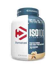 Buy Dymatize Nutrition <b>ISO 100</b> 5 lbs Whey Protein Powder with ...