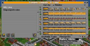 Replace vehicles - OpenTTD