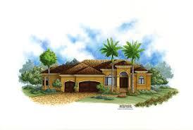 Golf Course Luxury Lot House Home Floor Plans Plan   Weber Design    Lido Bay II House Plan Golf Course Home Plans