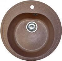 <b>AquaGranitEx</b> M-08 505x505 мм – купить <b>кухонную мойку</b> ...