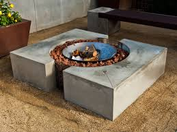 quadra concrete fire pit cheng concrete exchange cement furniture