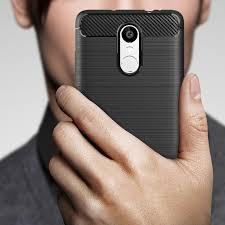 For Xiaomi Redmi Note 3 Case Luxury <b>Carbon Fiber Anti-drop</b> TPU ...