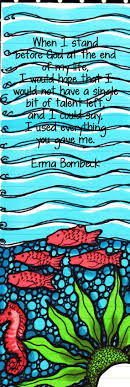 best ideas about erma bombeck tough love erma bombeck quote bookmark by kellysartjournaling on 6 00