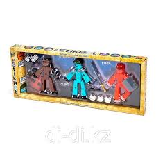 <b>Игрушка 3 фигурки Stikbot</b> Off the Grid, Striker: продажа, цена в ...