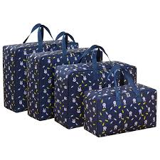 4 pcs/<b>set</b> Large Capacity <b>Oxford</b> Storage <b>Bag</b> M+L+<b>2Pcs</b> XL Closet ...