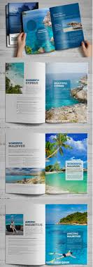best travel and tourist brochure design templates  travel agency brochure catalog indesign v3