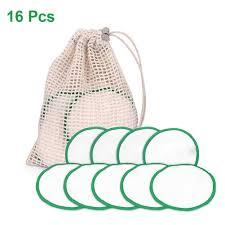 <b>16pcs</b>/set Cotton Rounds Reusable Chemical Free Cotton Pad ...