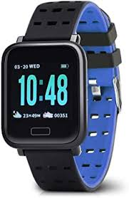 <b>Gocomma</b> A6 Smart Watch Heart Rate Monitor for Android: Amazon ...