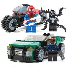 2019 New <b>Superheroes</b> Avengers Spiderman And Venom Mech ...