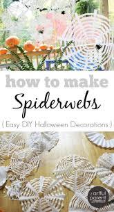 Decorazione Finestre Neve : Diy halloween crafts coffee filter spiderwebs fiocchi di neve