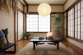 view in gallery shoji screens indoor plants and lantern lighting for the asian style dining room design asian style lighting