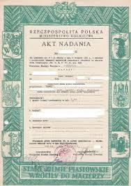 Znalezione obrazy dla zapytania Akt nadania ziemi 1946 r zdjęcia