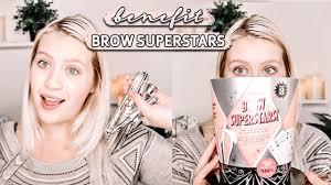 TESTING BENEFITS <b>BROW SUPERSTARS</b> | Chrissy Alyse - YouTube