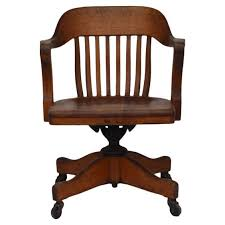 impressive american oak swiveling desk chair from a unique collection of antique and modern office bathroomhandsome chicago office chairs investment furniture