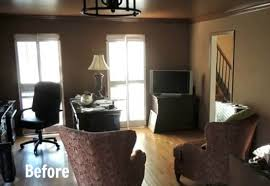 before after a fabulous first floor remodel hooked on houses brighten dark room