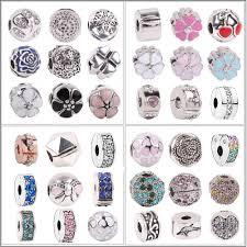 <b>AIFEILI</b> Fit Pandora Charm Bracele <b>New</b> Wuropean <b>Silver</b> Shinning ...