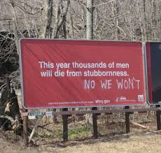 This Year Thousands Of Men Will Die Of Stubborness | Facebook ... via Relatably.com