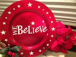 charger plates decorative: christmas tree charger decorative plate by morningstargeneralst