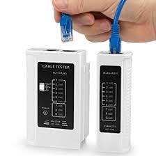 RJ45 RJ11 CAT5 CAT6 UTP STP <b>NETWORK LAN CABLE TESTER</b> ...