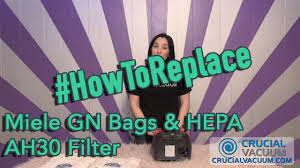 <b>Miele GN Bags</b> & HEPA AH30 Filter Replacements: Part S300, S600 ...