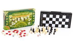 <b>Набор игр</b> (шашки, шахматы, нарды), 3831 - <b>Спорт</b> 21 Век