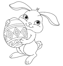 Small Picture Printable Easter Bunny Coloring Pages Coloring Me