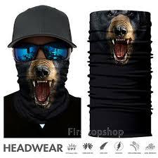 <b>3D Animal Face Mask</b> Breathable Protective Multi-Use Balaclava ...