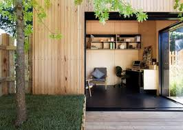 this 450 sq ft backyard studio serves as a writing studio and a quiet family retreat wwwfacebookcomsmallhousebliss cabins pinterest backyard backyard office prefab