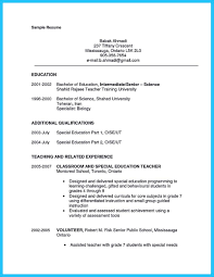 sample resume special education assistant resume samples sample resume special education assistant teacher assistant resume sample job interview career guide assistant cv example